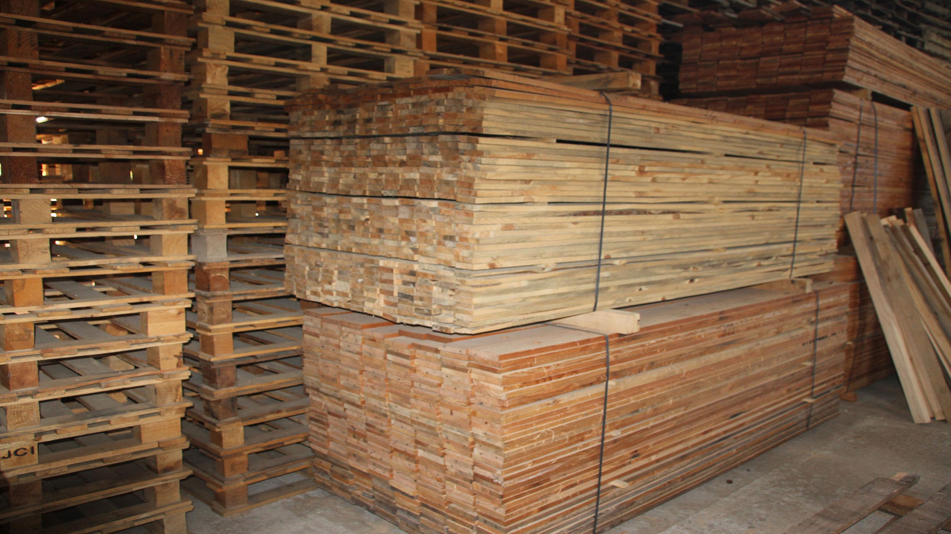 Reciclaje de maderas formas creativas de reciclar palets - Reciclaje de maderas usadas ...